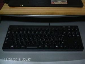 テンキーなしキーボード1
