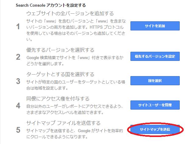 wordpress グーグルXMLサイトマップに登録しよう ワードプレス