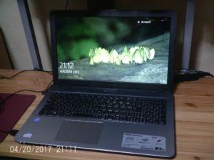 ノードパソコンASUSR541S1